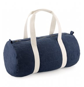 image of BA-646S  Denim Barrel Bag