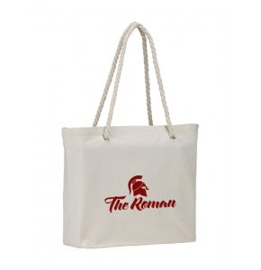 image of CA-4233S  Cotton Beach Bag