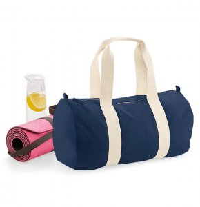 image of CA-814S  Organic Cotton Barrel Bag