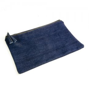 image of DNM-20102S  Denim-Look Pencil Case