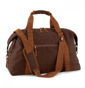 image of CA-650S  Vintage Canvas Travel Bag