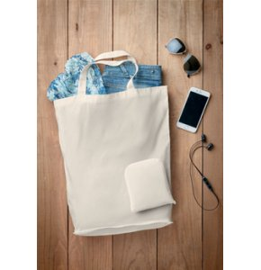 image of CA-9283S  Foldable Cotton Tote
