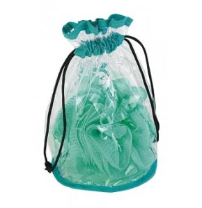 image of CL-130  Clear Drawstring Washbag