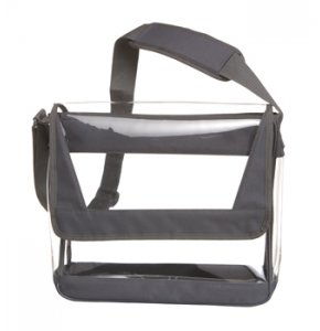image of CL-2207S  Clear Messenger Bag