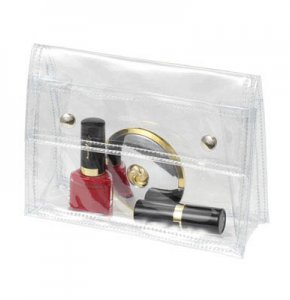 image of CL-445S  Press Stud Clear Bag