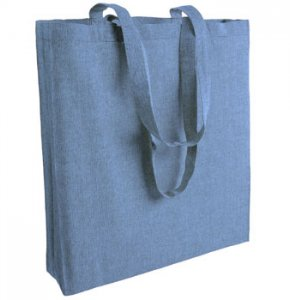 image of CR-153S  Recycled Cotton Tote With Gusset