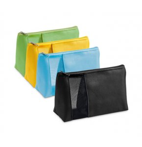 image of CT-92717S  Mesh Window Cosmetic Pouch