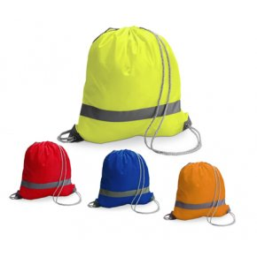 image of HV-563IS  Hi-Vis Drawstring Backpack