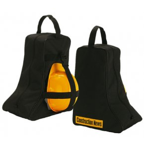 image of BH-162 Wellington Boot Bag with Strap for Hard Hat (hat not supplied)