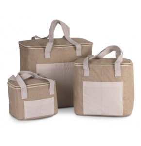 image of JU-352S  Jute Cool Bag