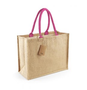 image of JU-407S  Jute Shopping Bag