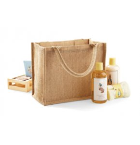 image of JU-412S  Mini Jute Gift Bag