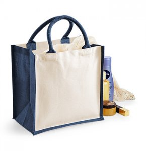 image of JU-421S  Jute Tote Bag