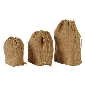 image of JU-900S  Jute Drawstring Pouch