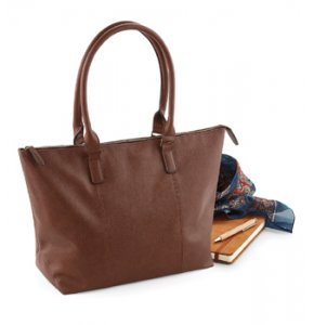 image of LE-877S  Leather-Look Shoulder Bag