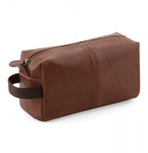 image of LE-879S  Leather-Look Washbag