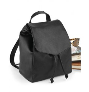 image of LE-881S  Leather-Look Mini Backpack