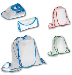 image of NW-109S  Foldable Drawstring Backpack