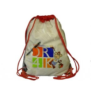 image of CL-563  Clear Drawstring Backpack