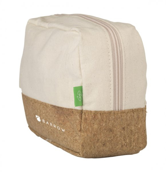 CA-1249S  Canvas Cork Wash Bag Image 1of 4