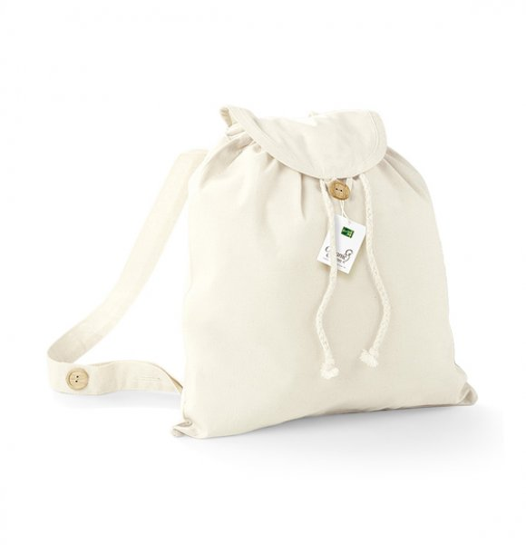 CA-185S  Organic Cotton Festival Backpack Image 0of 3