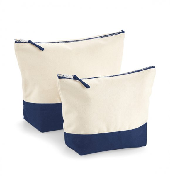 CA-544S  Cotton Cosmetic Bag Image 1of 3