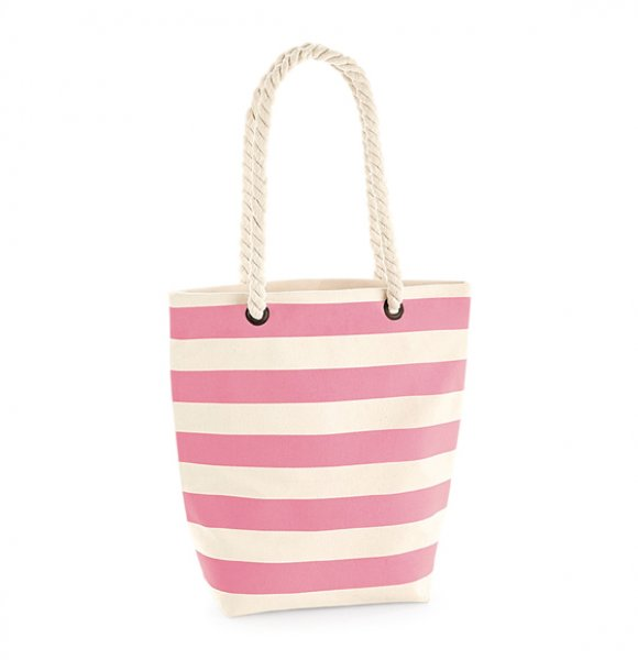 CA-685S  Cotton Tote Beach Bag Image 1of 3