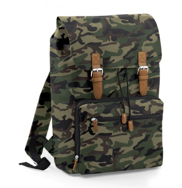 CAMO-613S  Vintage Laptop Backpack Image 0of 2