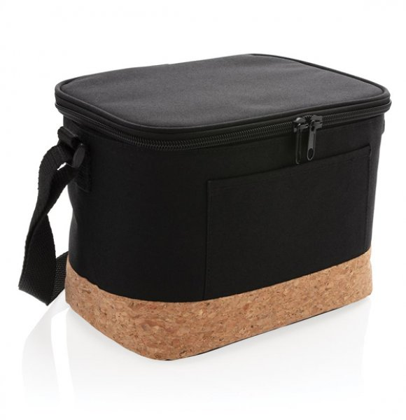 CB-422261S  6 Can Cool Bag with Cork Base Image 0of 4