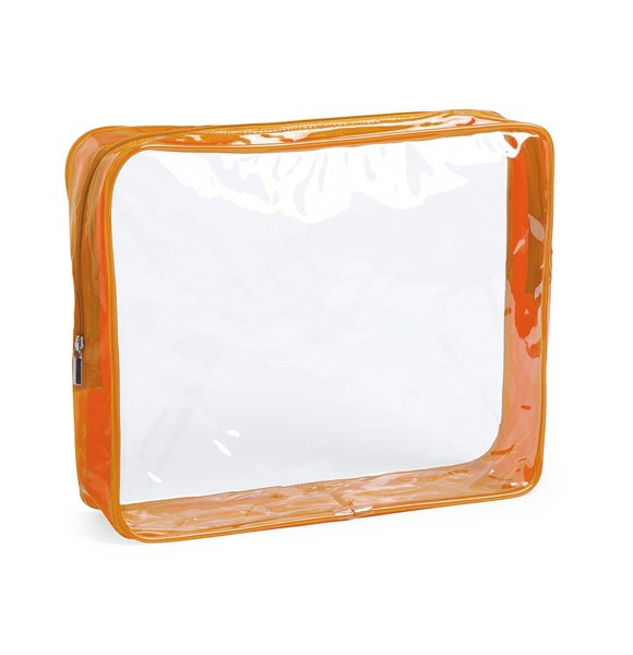 CL-5933S  Clear Cosmetic Pouch Image 1of 6