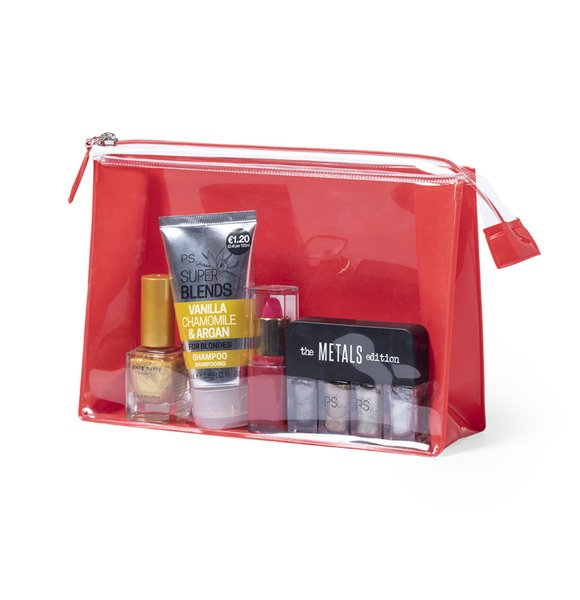 CLW-6160S  Clear Beauty Bag Image 0of 6