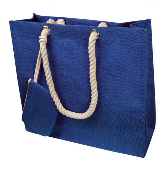 JU-60865S  Jute Beach Bag Image 1of 3