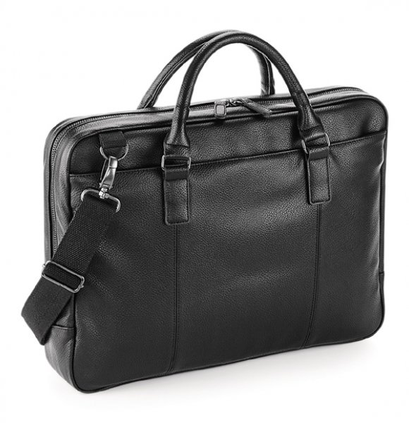 LT-892S  Leather-Look Laptop Bag Image 0of 2