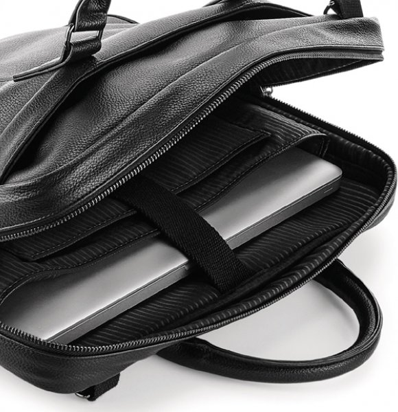 LT-892S  Leather-Look Laptop Bag Image 1of 2