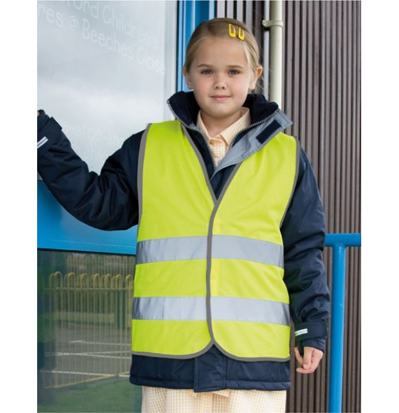 SV-200S  Hi-Vis Child Safety Vest Image 2of 3