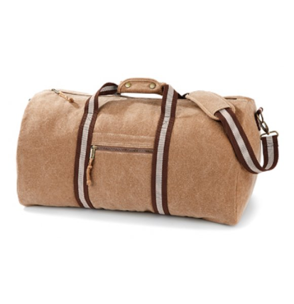 CA-613S  Vintage Canvas Holdall Image 1of 4