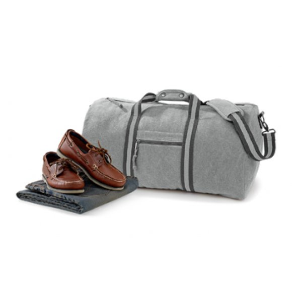 CA-613S  Vintage Canvas Holdall Image 0of 4