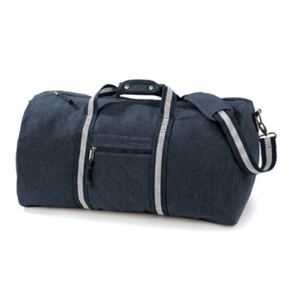 CA-613S  Vintage Canvas Holdall Image 3of 4