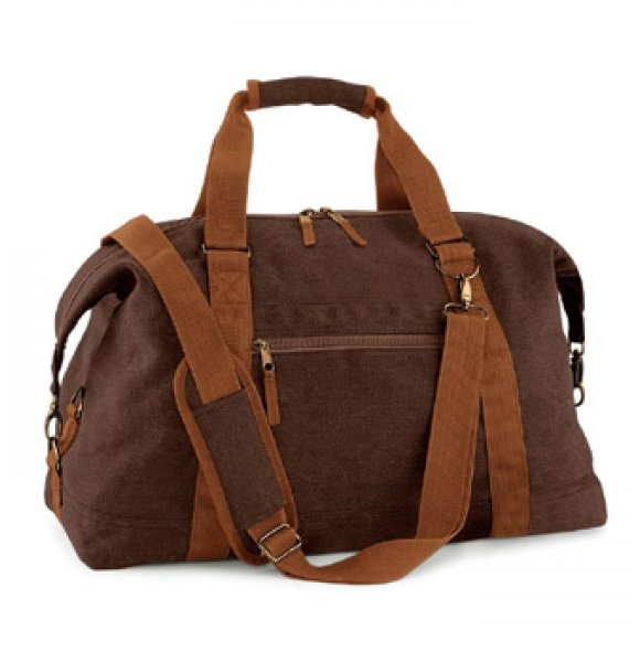 CA-650S  Vintage Canvas Travel Bag Image 0of 2