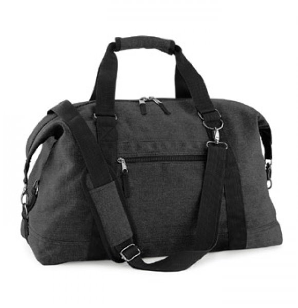 CA-650S  Vintage Canvas Travel Bag Image 1of 2