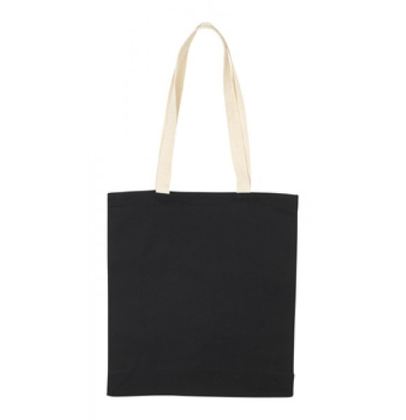 CA-9152S  8oz Cotton Tote Bag Image 2of 5