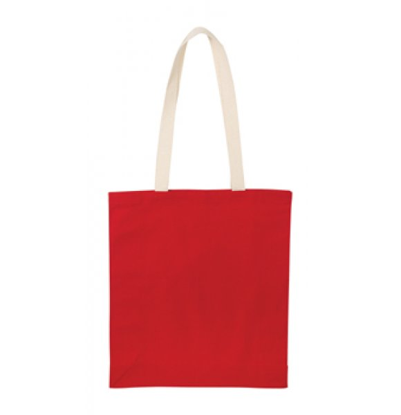 CA-9152S  8oz Cotton Tote Bag Image 1of 5