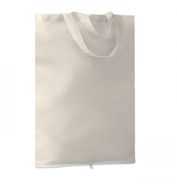 CA-9283S  Foldable Cotton Tote Image 1of 3