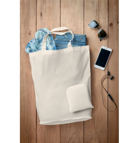 CA-9283S  Foldable Cotton Tote Image 0of 3