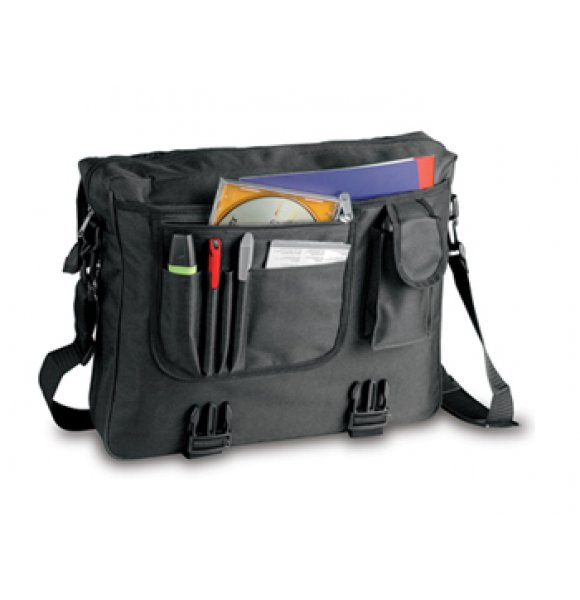 CC-752S  Stock Flapover Conference Bag Image 1of 5
