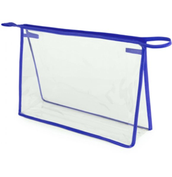 CL-4778S  Clear Travel Cosmetic Bag Image 3of 4