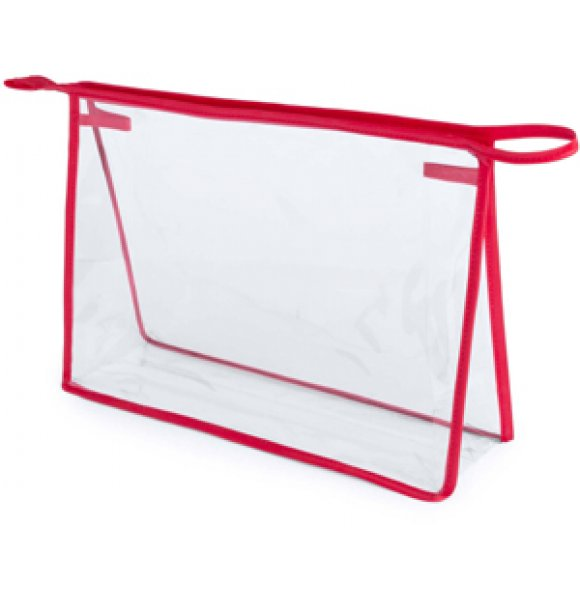 CL-4778S  Clear Travel Cosmetic Bag Image 2of 4