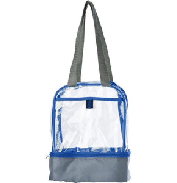 CL-931S Clear PVC Lunch Bag Image 4of 7