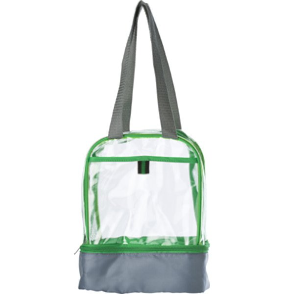 CL-931S Clear PVC Lunch Bag Image 3of 7
