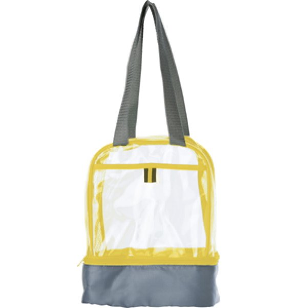 CL-931S Clear PVC Lunch Bag Image 6of 7